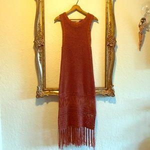 Moon River Midi Sweater Dress size Medium
